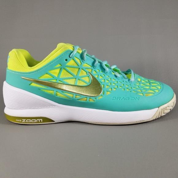 a0fc7e48adb8 Nike Zoom Cage 2 Womens Tennis Shoes 9 Blue Yellow.  M 5b4d210da31c33842585c419
